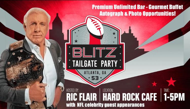 Ric Flair's Blitz Tailage at Hard Rock Atlanta