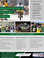 Green Bay Packers Brochure