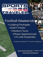 2019 Sports Traveler Football Weekend Brochure