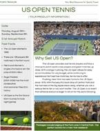 US Open Tennis Screenshot