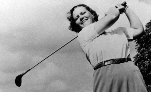 The legendary women's golfer Patty Berg