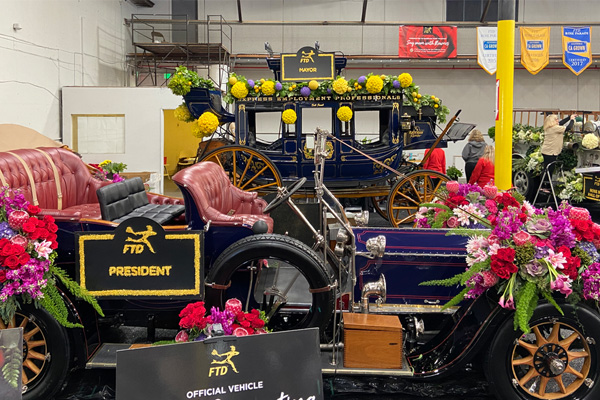 Grand Marshall Cars for the 2020 Rose Parade