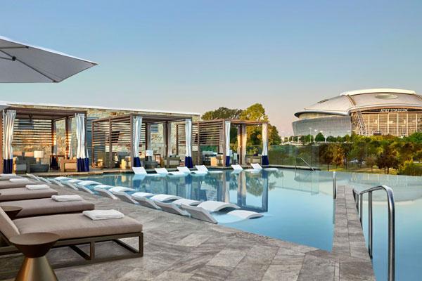 Loews Arlington Hotel Pool