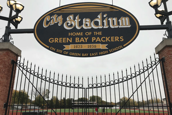 City Stadium the original home of the Green Bay Packers