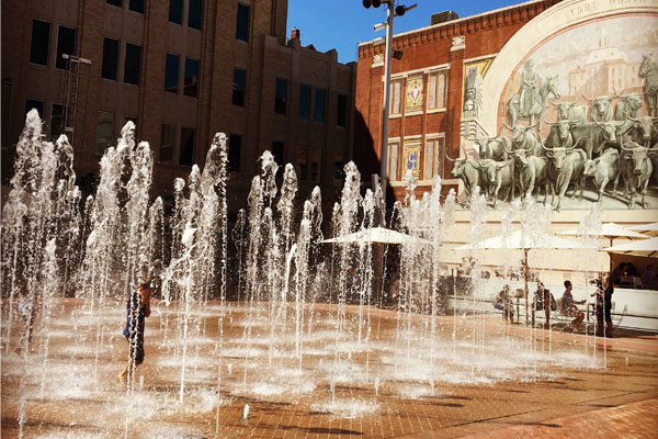 Sundance Square in Fort Worth, Texas